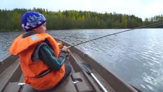 видео Отдых на озёрах Финляндии