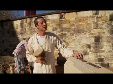 Traditional stonemason discusses his craft