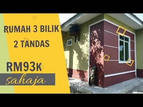 RUMAH 3 BILIK RM93K SAHAJA