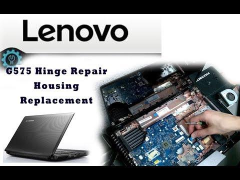 Lenovo G575 Hinge Repair Housing Replacement \ Reparación de bisagras rotas