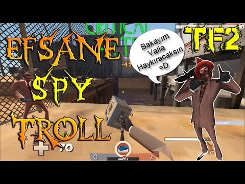TF2 - Spy'la Efsane Troll =D [Voice Chat] [Türkçe]