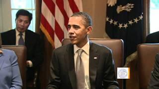 Video Obama celebrates 50th birthday download MP3, 3GP, MP4, WEBM, AVI, FLV Juli 2018