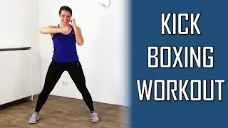 20 Minute Kickboxing Workout - Fat Burning and Fun Kickboxing Cardio Techniques Training