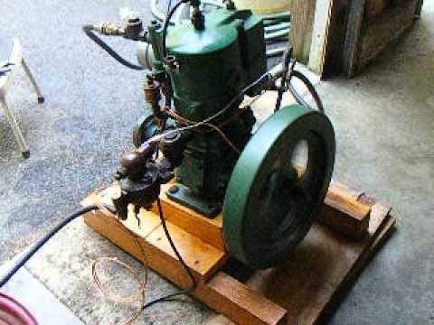 Detroit 4 Hp Antique Marine Engine