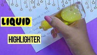 DIY Liquid Highlighter l Lava Lamp Highlighter l Little Miss Inspiration
