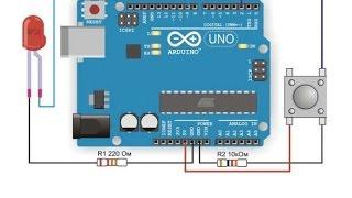 Урок 5  Подключение кнопки к Arduino