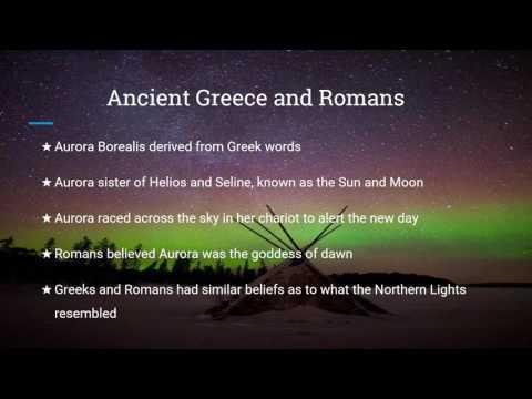 Video Presentation- Northern Lights