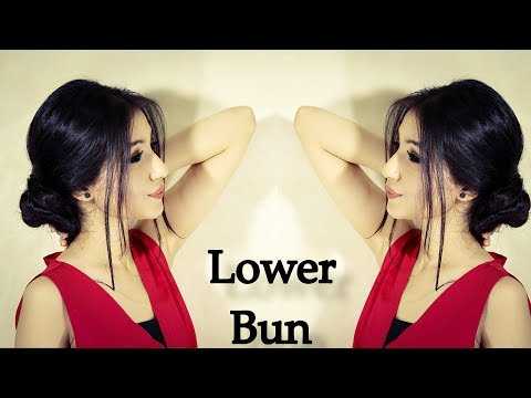 2 Minute Classic Elegant Low Bun Hairstyle|Perfect Low Bun| Easier Than It Looks Updo| Buns
