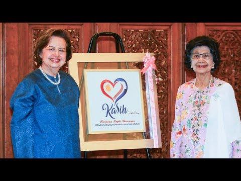 Tun Hasmah forms Kasih Malaysia to carry out welfare work