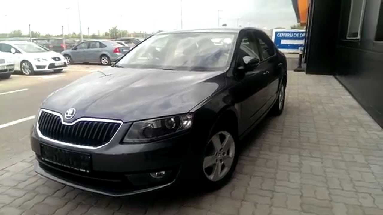skoda octavia 3 1 2 tsi metallic grey hd youtube. Black Bedroom Furniture Sets. Home Design Ideas