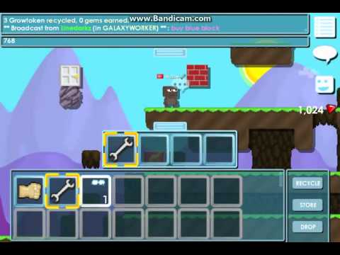 Growtopia Recycled Focused Eyes and Tokens - YouTube