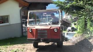 AEBI TP 35 mit 4 Zylinder Leyland Dieselmotor