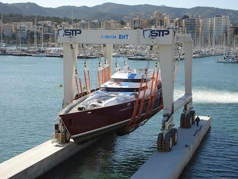 ASCOM 700 ton Boat Hoist