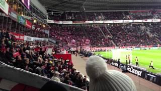 Fan Gesang vom FC Bayern - Leverkusen vs FC Bayern München - 16.03.2013