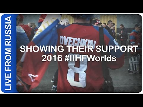 Showing Their Support | #IIHFWorlds 2016