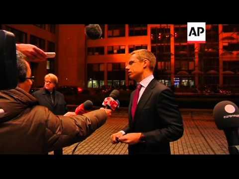 EU FMs discuss bloc's aid to Egypt, Tunisia ahead of Ashton trip