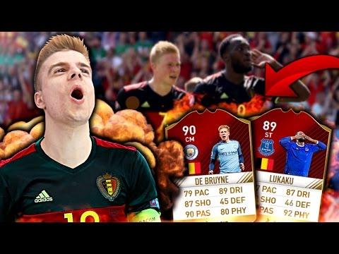 FIFA 17: BELGISCHE BALLERMÄNNER • SIF DE BRUYNE + FIF LUKAKU