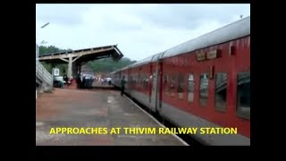 DELHI TO GOA WITH NATURAL SCENE IN RAJDHANI 1stAC