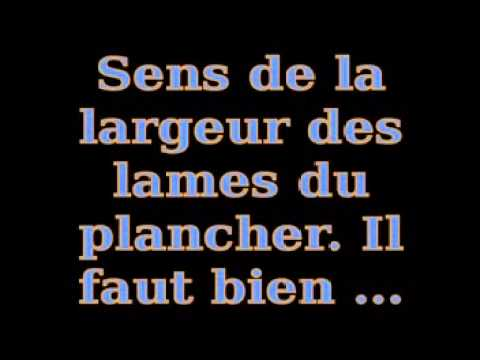 voici comment renforcer un plancher bois tutorial 2014 youtube. Black Bedroom Furniture Sets. Home Design Ideas