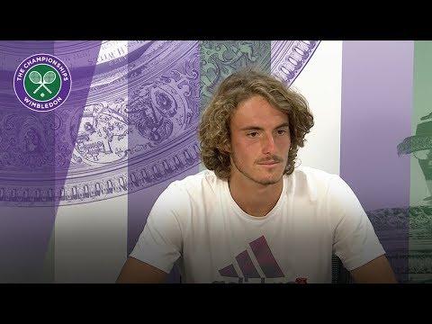 Stefanos Tsitsipas - 'I'm a fighter' | Wimbledon 2018