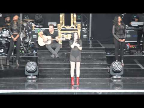 Jessie J – Who You Are speech (Scarborough, July 10th)