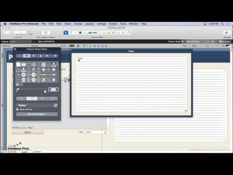 Portal Notes in FileMaker