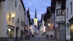 Bayern Ein Rundgang durch die historische Ludwigstraße Garmisch-Partenkirchen Altstadt Deutschland
