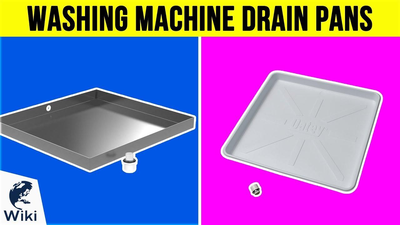 10 Best Washing Machine Drain Pans 2019 Youtube