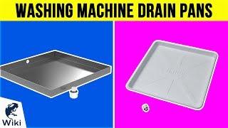 10 Best Washing Machine Drain Pans 2019