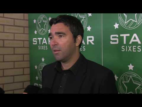 Deco Interview at Star Sixes Launch 05.10.16
