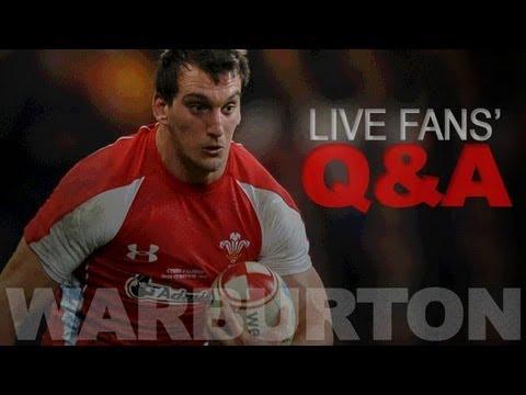 Focus on Rugby special: Sam Warburton talks live
