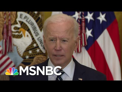 Biden Doubles Goal, Plans To Distribute 200 Million Vaccine Doses By 100th Day In Office   MSNBC