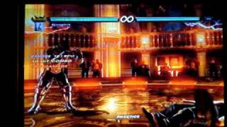 Tekken 6: Armor King Hidden Flame Breath