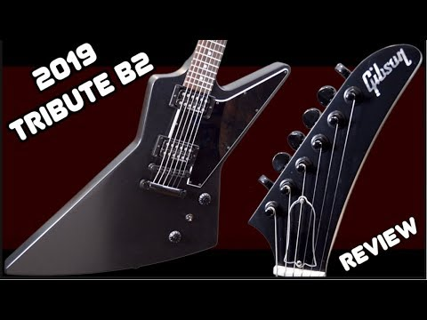 Is it Worth Buying? 2019 Gibson Explorer Tribute B-2 Black | Review + Demo