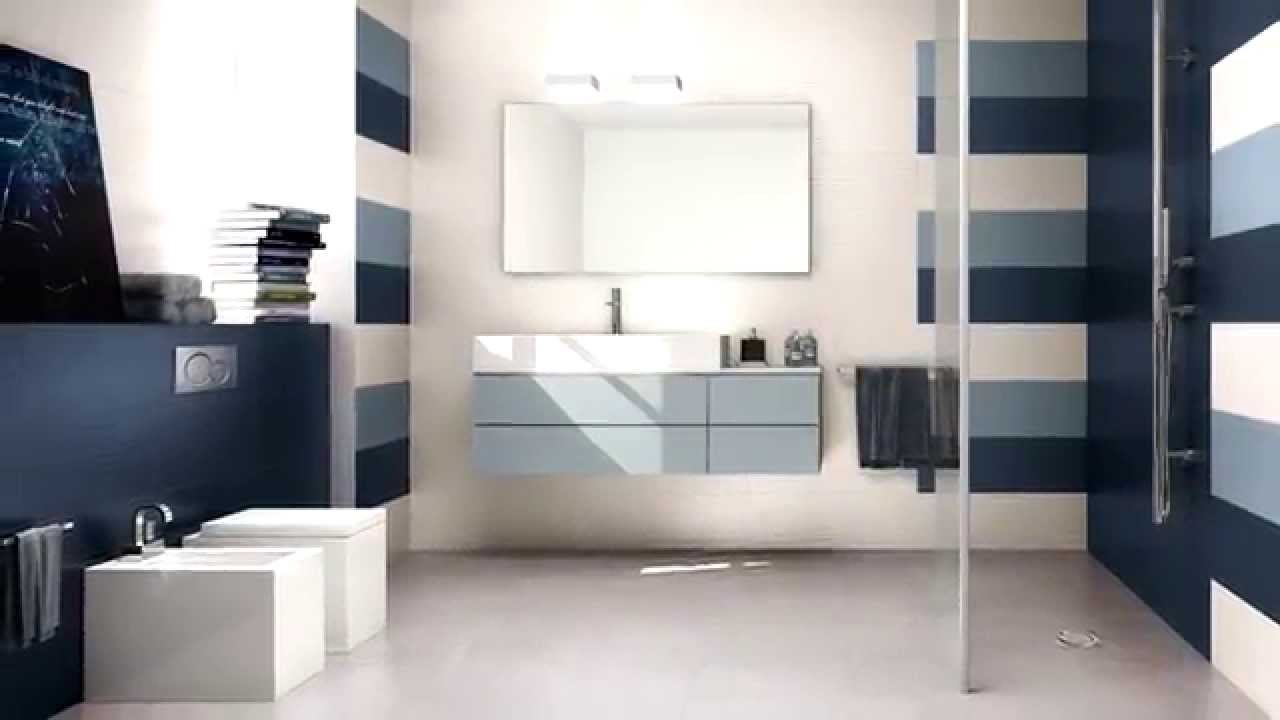 Lace - rivestimento bagni dallo stile contemporaneo / contemporary bathroom style - YouTube