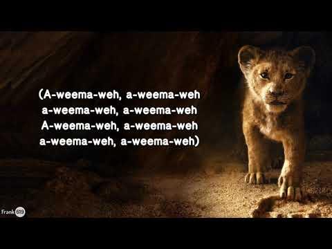 Billy Eichner & Seth Rogen - The Lion Sleeps Tonight 🎵 (Lyric) From The Lion King