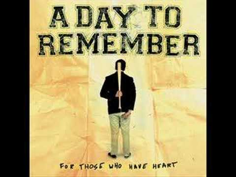 A Day To Remember  A Shot In The Dark