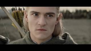Уста Саурона встречает армию Запада. Леголас Расплакался.Властелин колец  Возвращение короля