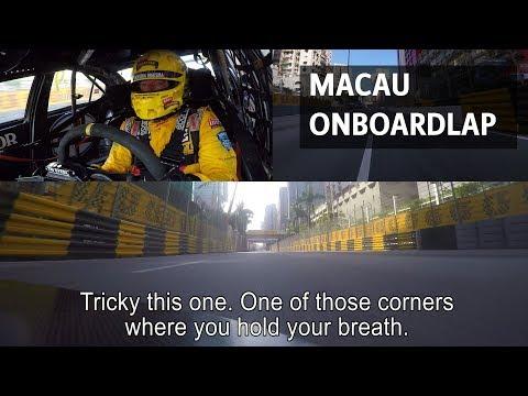 Macau streetcircuit full onboardlap by Tom Coronel, 2017 Chevrolet Cruze WTCC