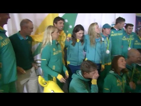 Interviewed: Australian Plympic Sailing Team Triumphantly Returns Home to their Base at the MHYC