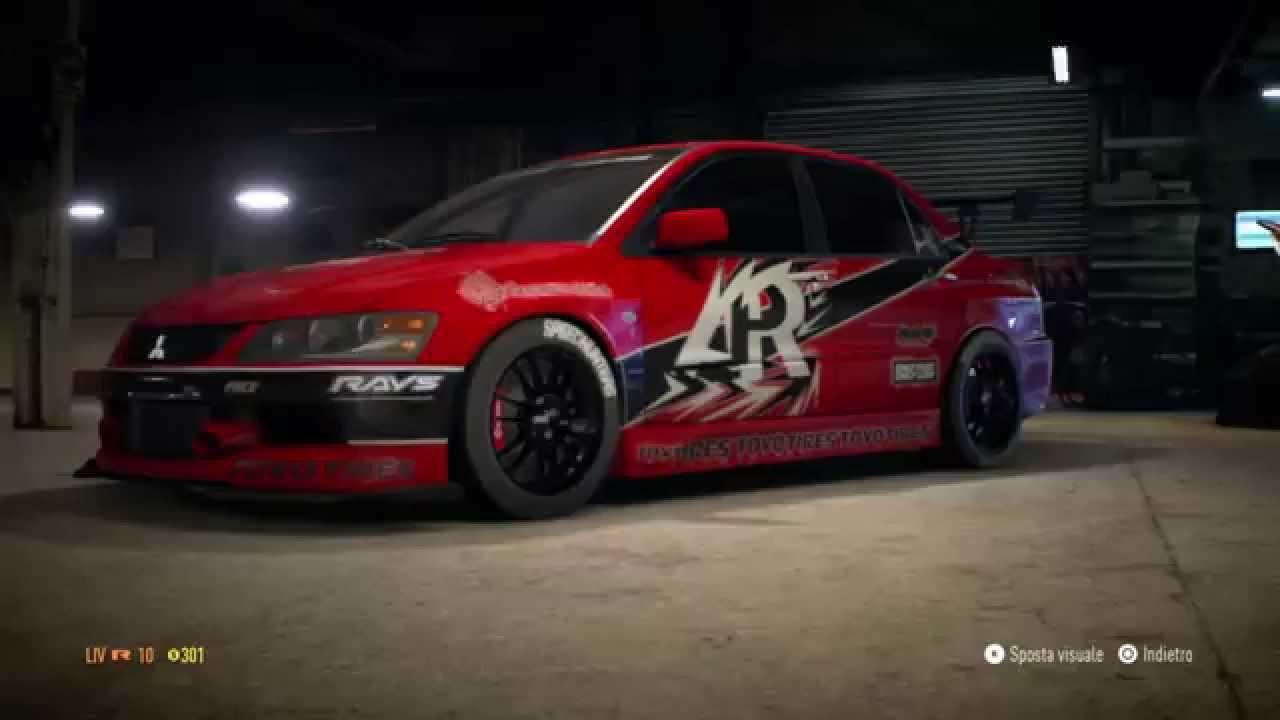 need for speed � 2015 mitsubishi lancer evolution mr tokio