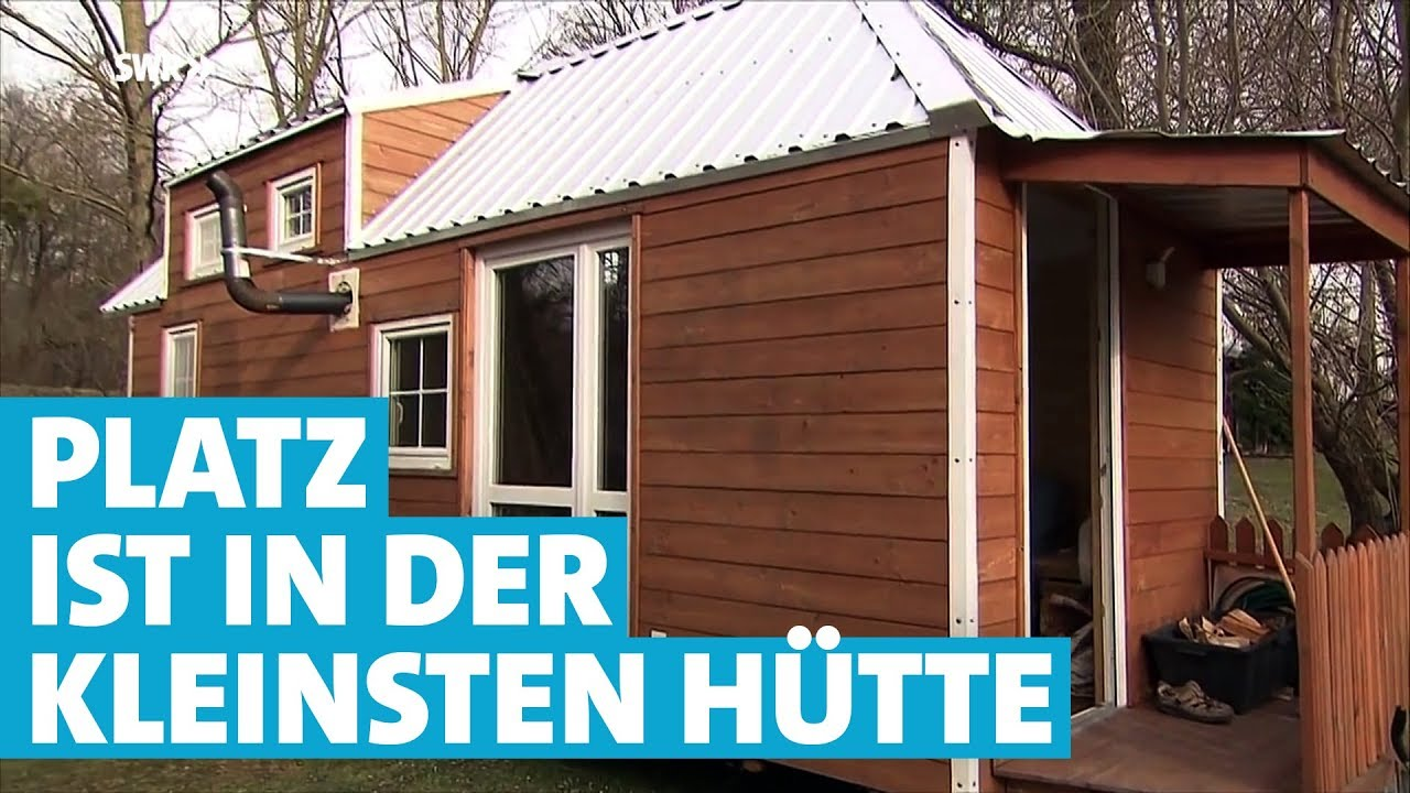 """""""tiny Houses""""  Kleine Häuschen Auf Rädern  Youtube"""
