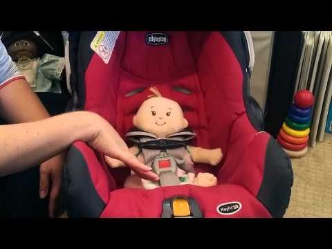 How to Secure An Infant in Their Rear-Facing Child Restraint/Car Seat