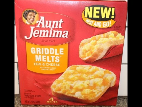 Aunt Jemima Griddle Melts: Egg & Cheese Review