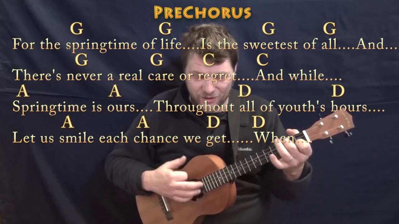When Irish Eyes Are Smiling Traditional Bariuke Cover Lesson In G