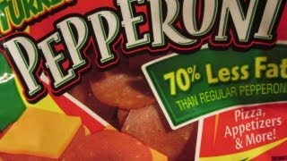 Turkey Pepperoni for Weight Loss