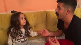 Evlenecem baba. Mira evlenmek istiyor😍 eğlenceli çocuk videosu, funny games