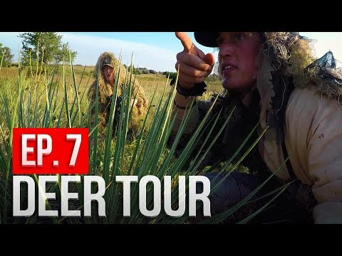 We Found A HONEY HOLE!  Nebraska Public Land Bowhunting - DEER TOUR E7