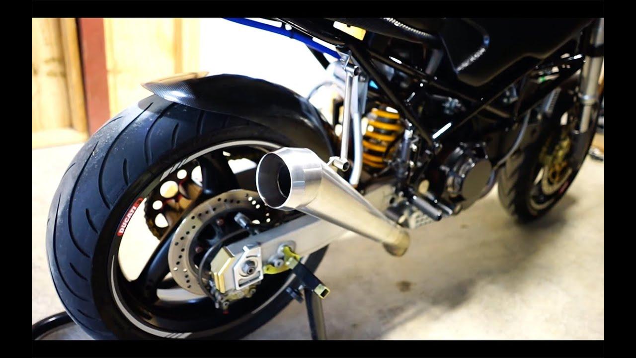Ducati Monster  Custom Exhaust