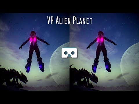 VR Space Odyssey: virtual reality space girl alien planet journey for oculus go samsung gear vr box